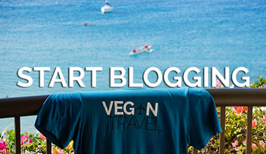 Start Your Vegan Travel Blog