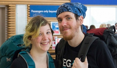 Vegan Travel Bloggers - Ross & Ellie