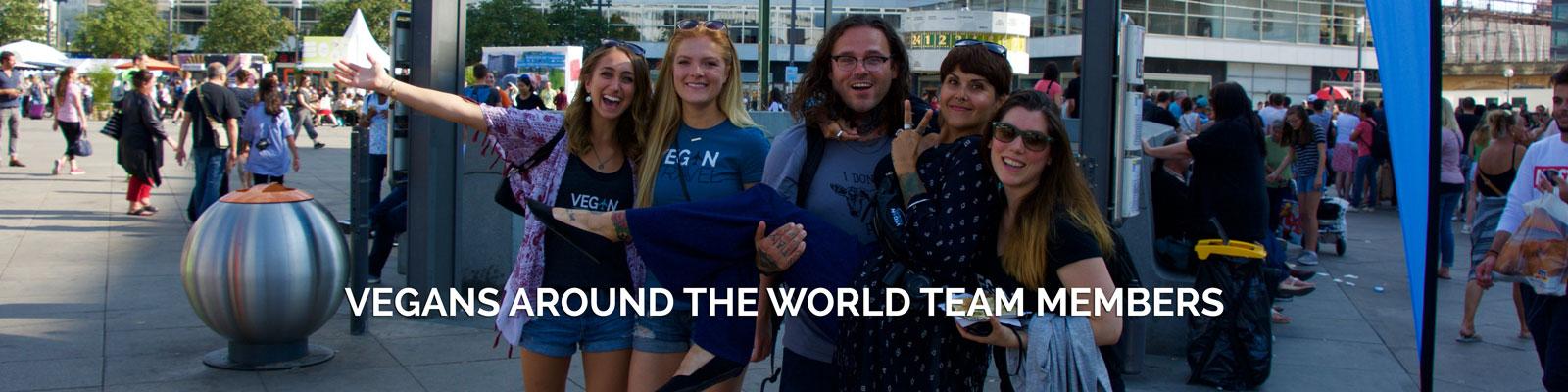 Vegans Around the World Team Members