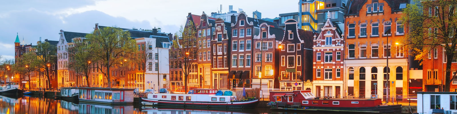 Amsterdam-Netherlands-Amstel-river Vegan Travel Guide