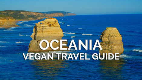 Oceania Vegan Travel Guides