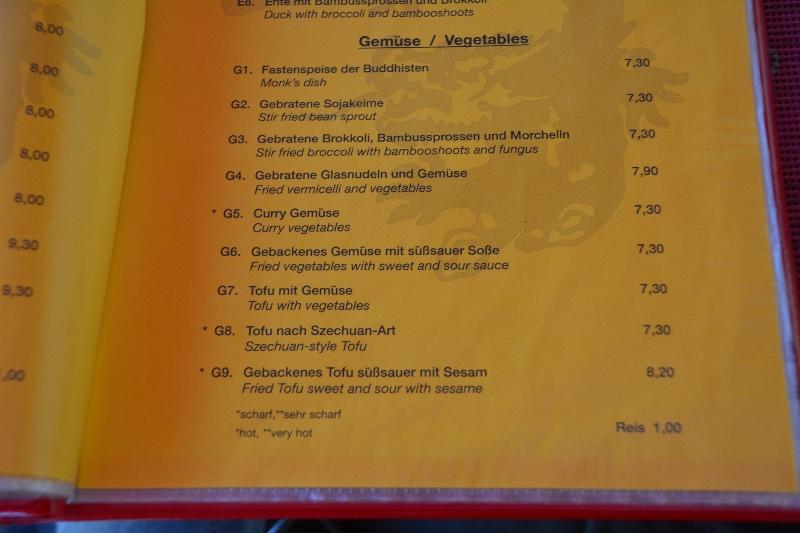 China Restaurant Happy Dragon Reviews Vegan Travel