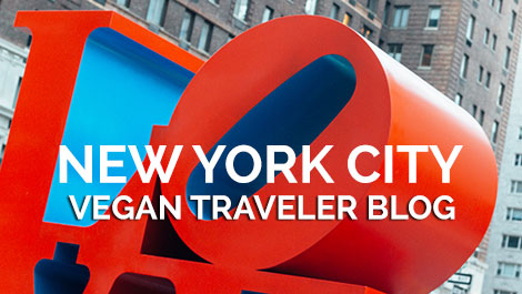 Vegan Traveler Blog - NYC