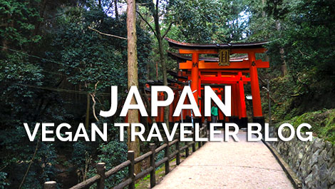 Japan Vegan Traveler Blog - Vegan Travel