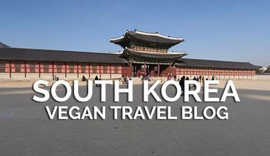 Vegan Travel Blog - South Korea