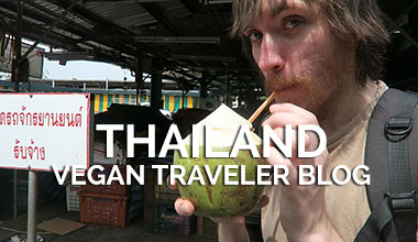 Thailand Vegan Travel Blog