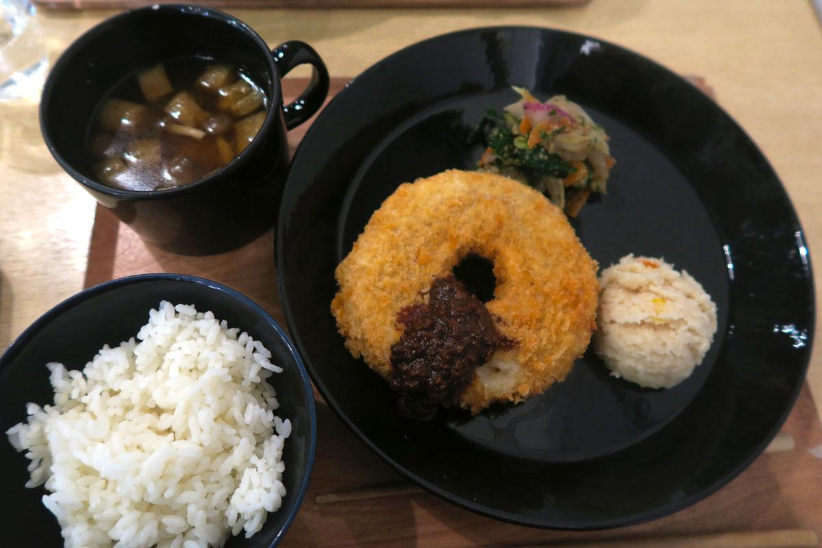 Vegan Dinner Japan