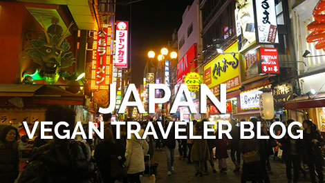 Vegan Japan - Vegan Traveler Roundup