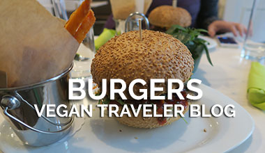 Vegan Travel Blog - Veggie Burgers