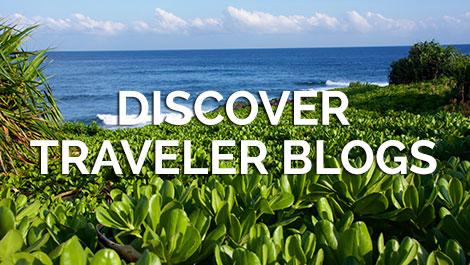 Discover Traveler Blogs