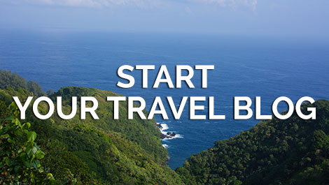 Start Your Travel Blog on VeganTravel.com