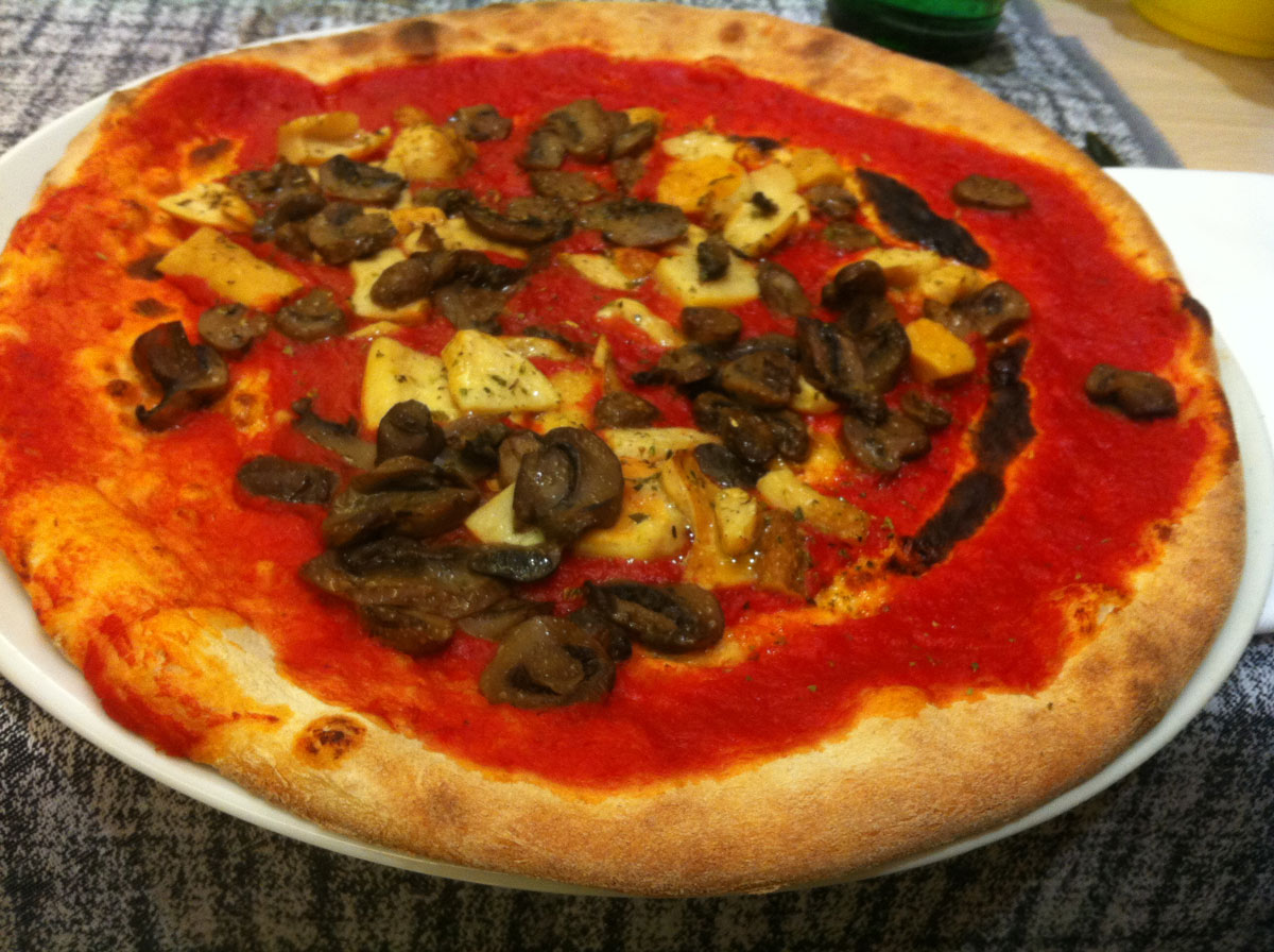 Vegan Travel Blog Italy - Pizza