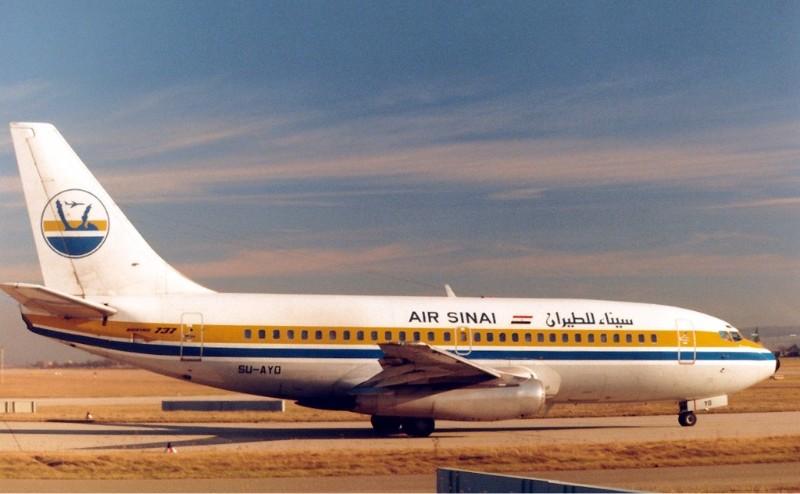 Resultado de imagen de Air Sinai