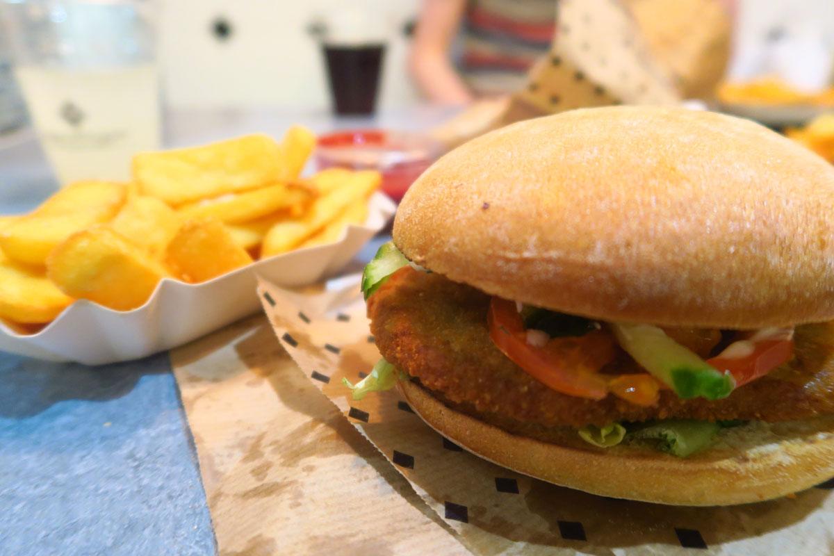 Vegan Europe - Vegan Burger - Vegan Traveler Blog