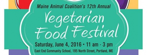 12th Annual Maine Vegetarian Food Festival