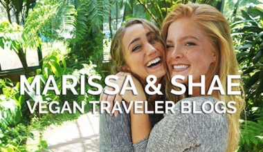 Vegan Travel Bloggers Marissa & Shae