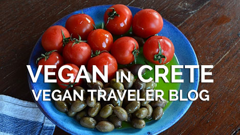 Vegan in Crete - Vegan Traveler Blog