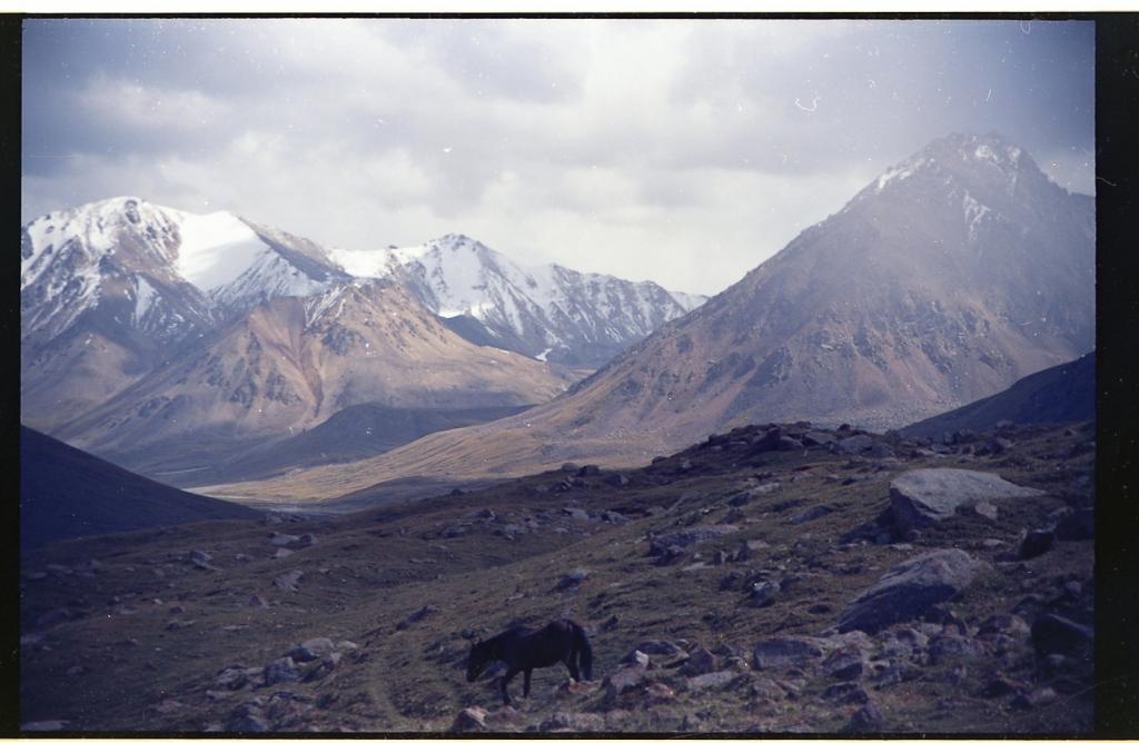 Kirghizistan argentique aurore dechambre