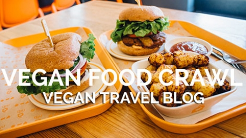 Vegan Food Crawl of Portland