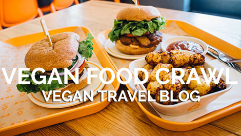 Vegan Traveler Blog - Vegan Food Crawl Portland - Vegan Travel
