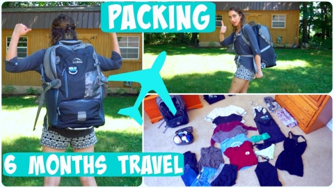 What I'm Packing For 6 Months Of Travel!
