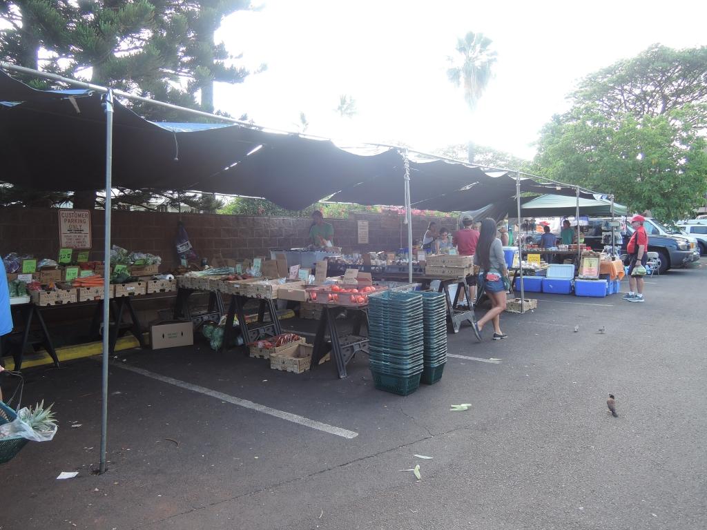 2016:05:25 Maui Hawaii Vegetarian Farmers Market and Deli Outside Market