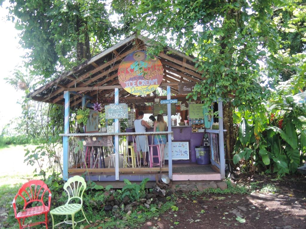 2016:05:26 Maui Hawaii Road to Hana Coconut Glen's Hut