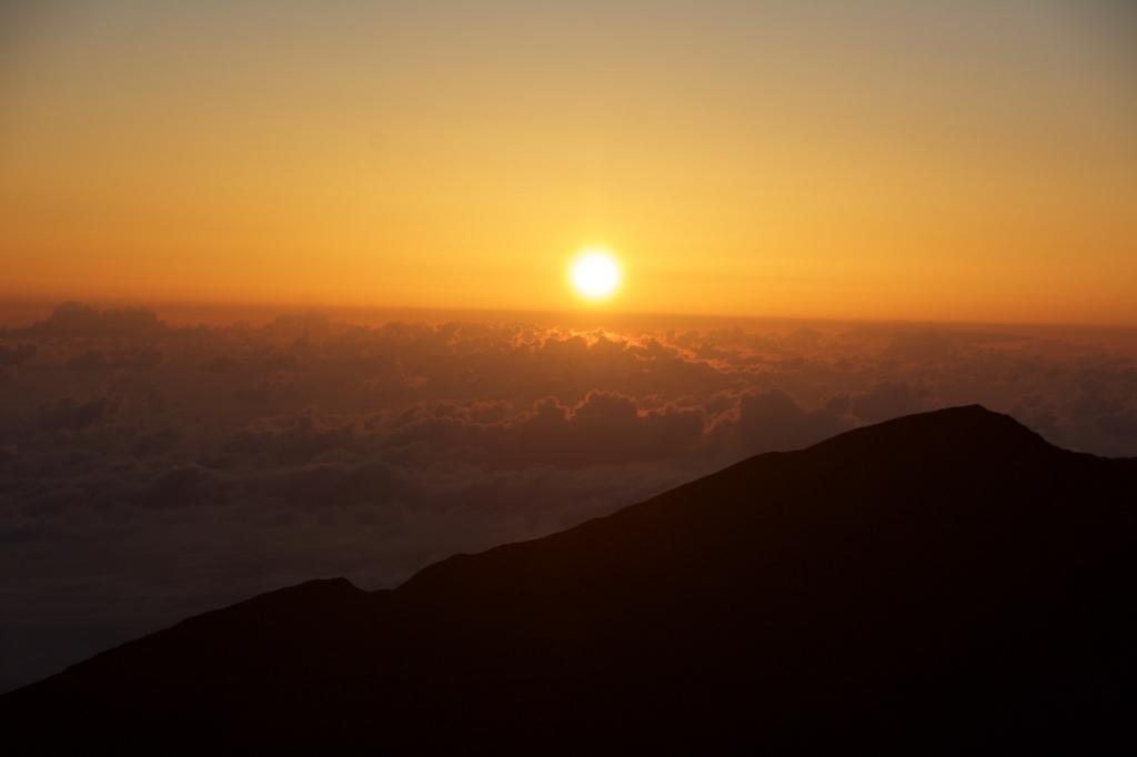 2016:05:30 Maui Hawaii AMM VeganTravel Haleakala National Park Sunrise