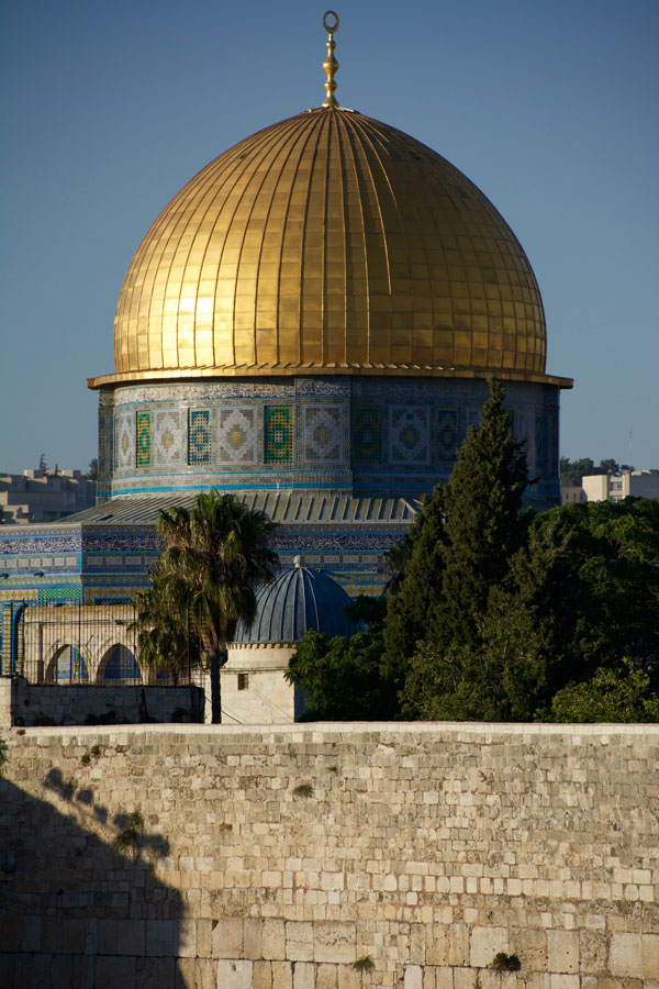 Al Aqsa Mosque - Dome of the Rock in Old City of Jerusalem
