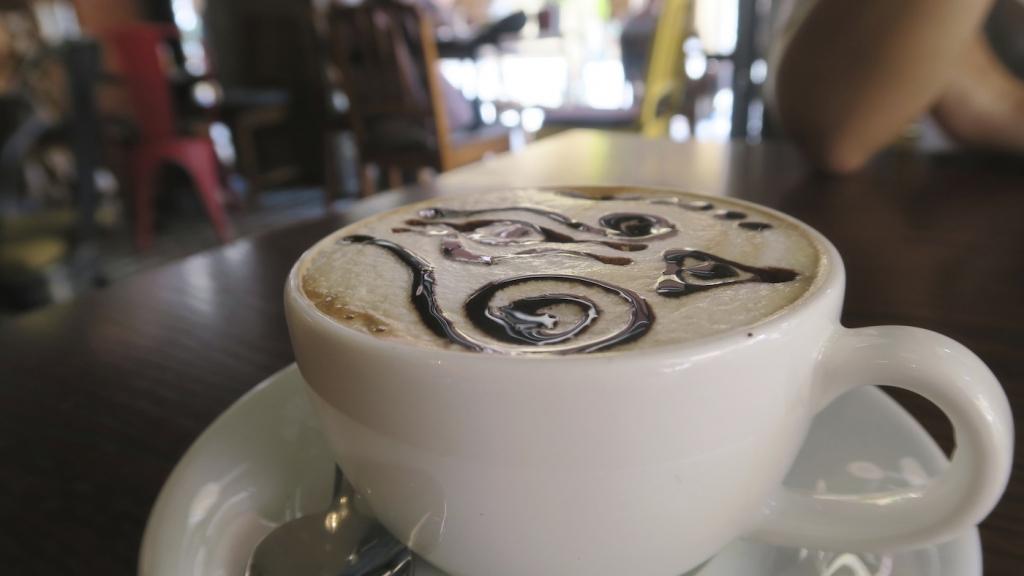 CafeMu_mocha latte