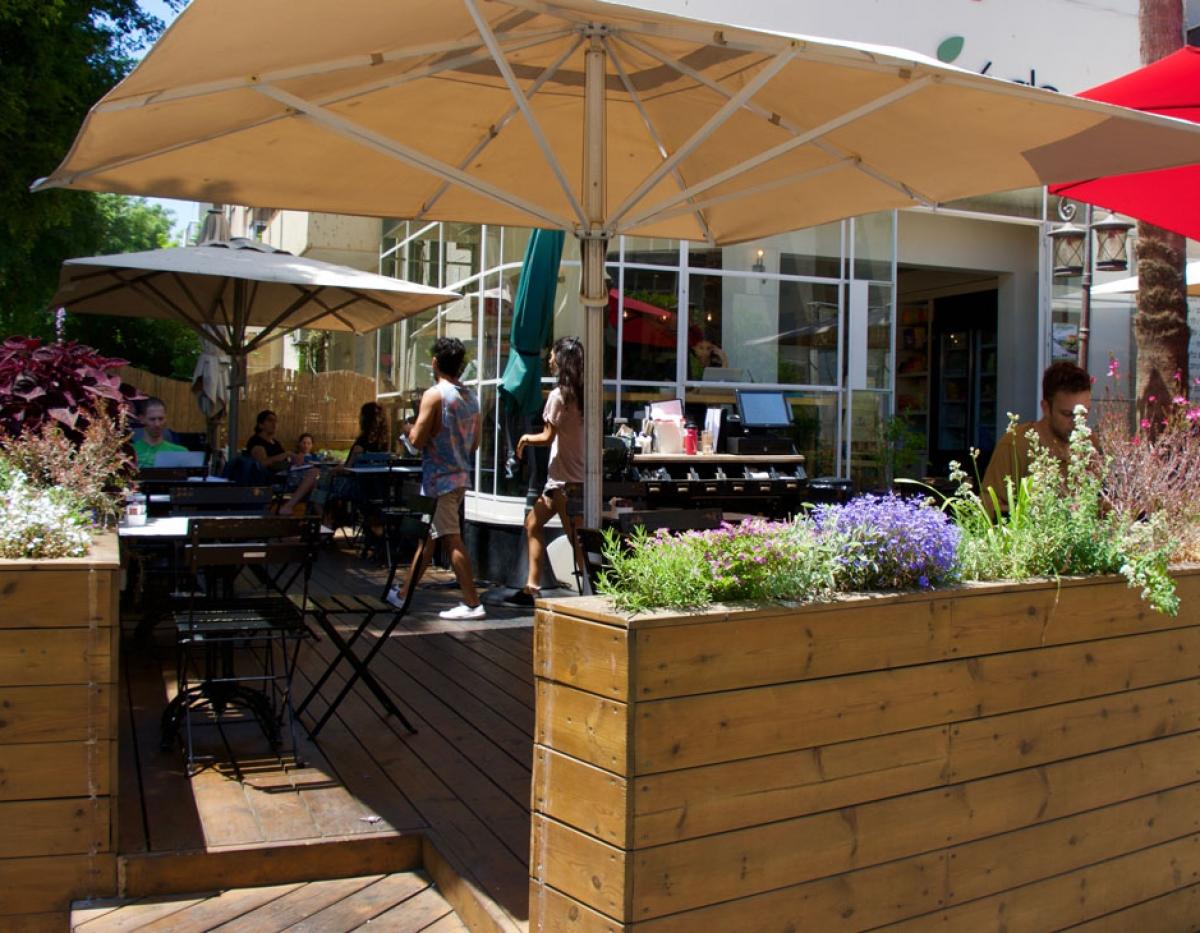 Anastasia Vegan Cafe in Tel-Aviv