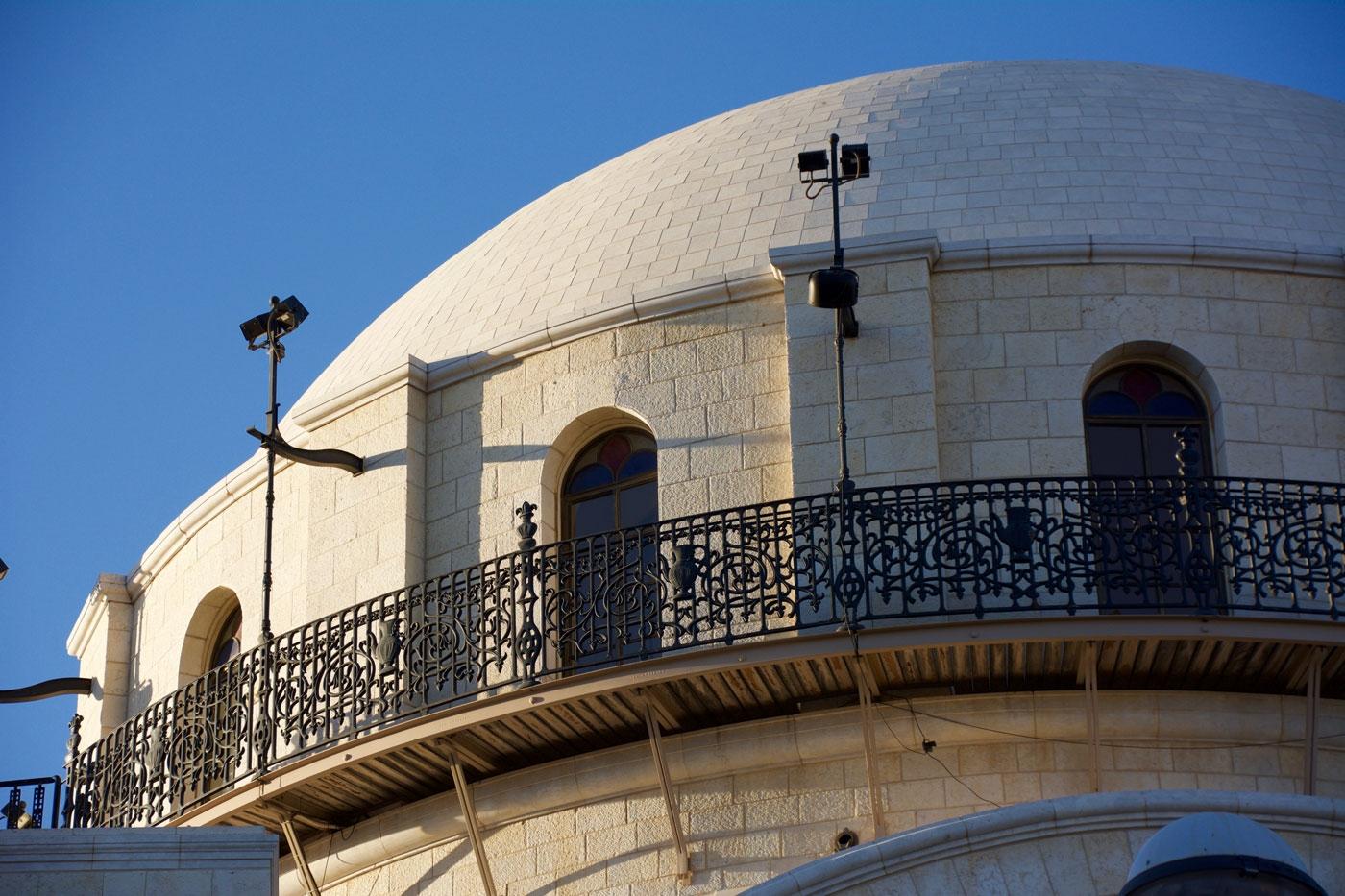 Hurva Synagogue in Jerusalem's Old City