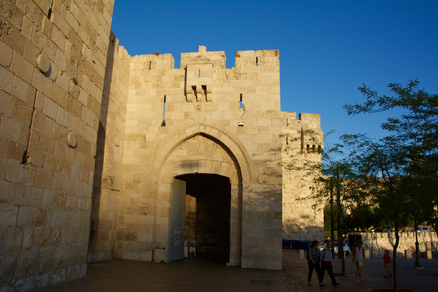 Jaffa Gate entrance to Jerusalem's Old City