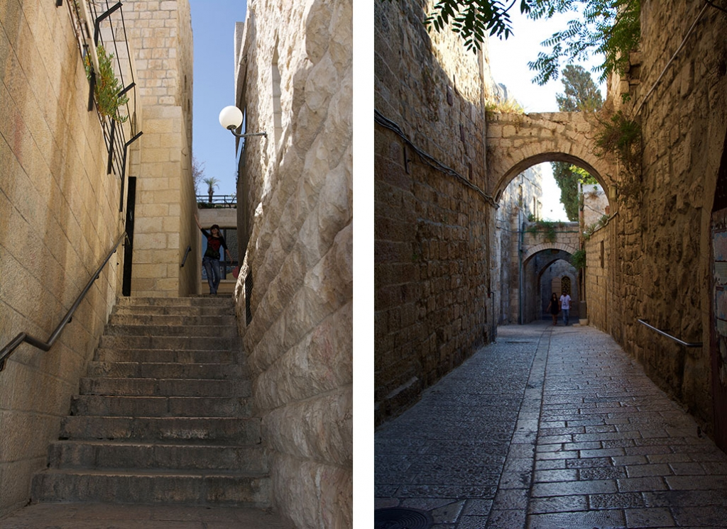 Jerusalem Old City Streets - Vegan Travel