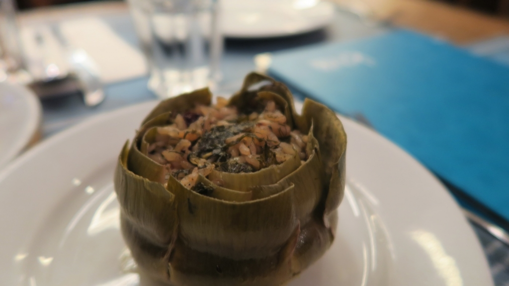 KivaHan_stuffed artichoke
