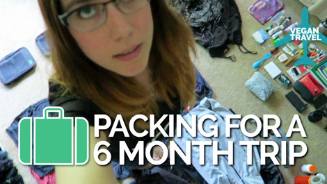 Kristin's Packing Tips for 6-Month Trip - Vegan Travel