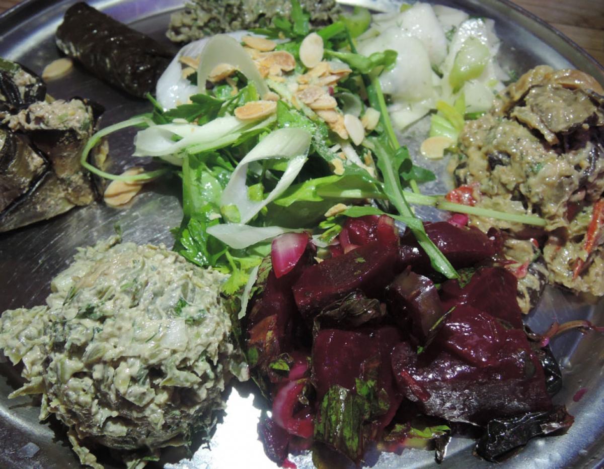 Nanuchka Pchalli – seven healthy salads