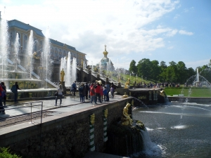 Peterhof's Palace and Fountains