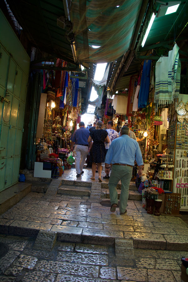 Souk in the Old City of Jerusalem