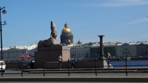 Sphinxes at the Neva River