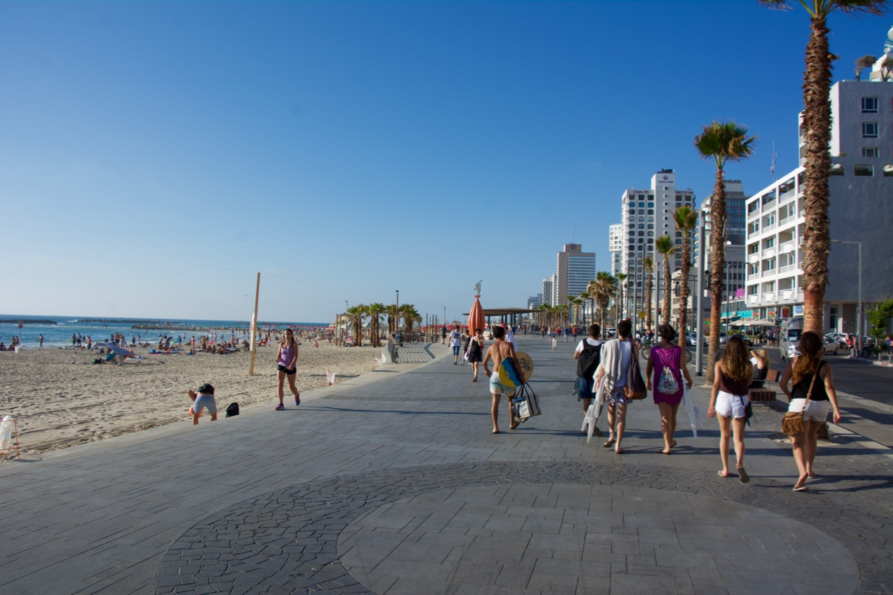 Tel Aviv Beach Walk Way