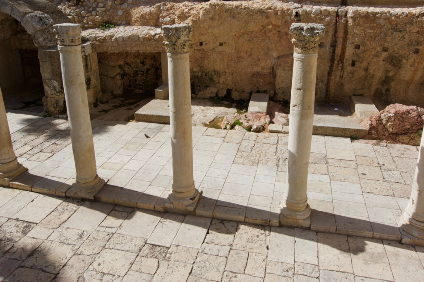 The Cardo – Roman ruins from the 2nd-Century in Jerusalem's Old City