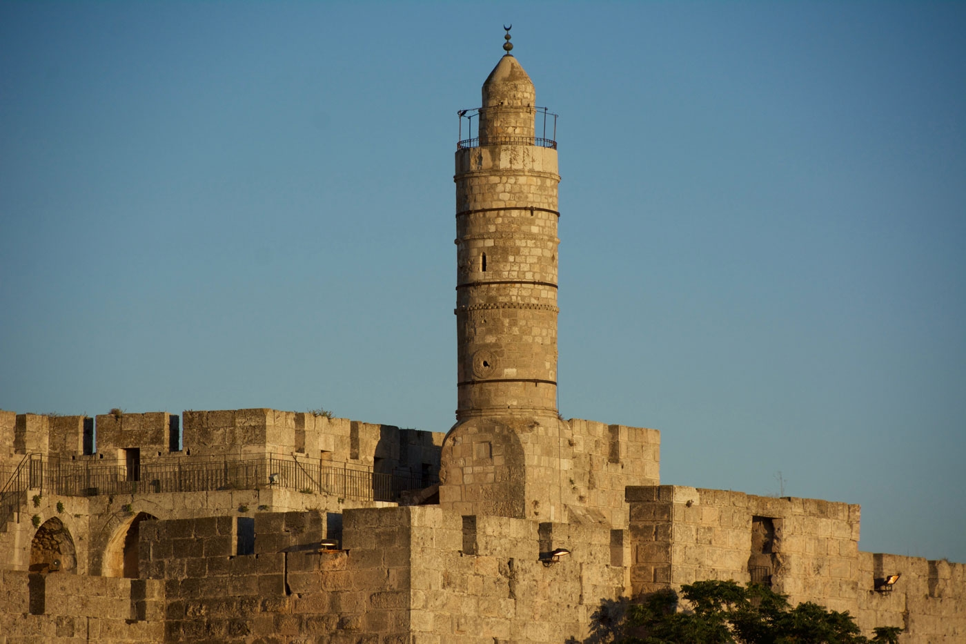 Tower of David – also called Jerusalem Citadel – view from Jaffa Gate