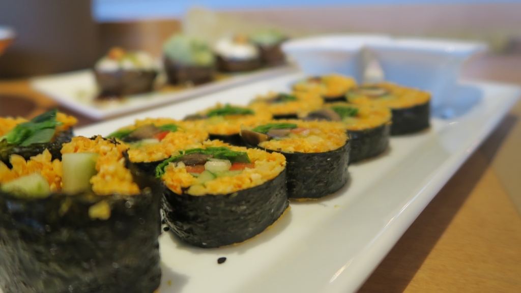 vegan sushi in athens greece