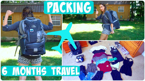 Marissa's Packing Tips - Vegan Travel