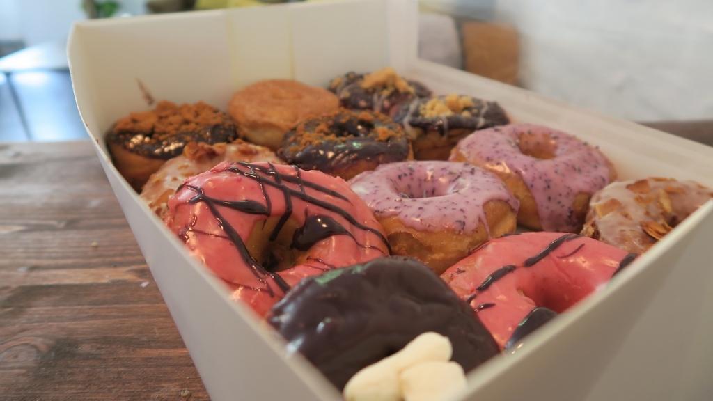 vegan donut shop