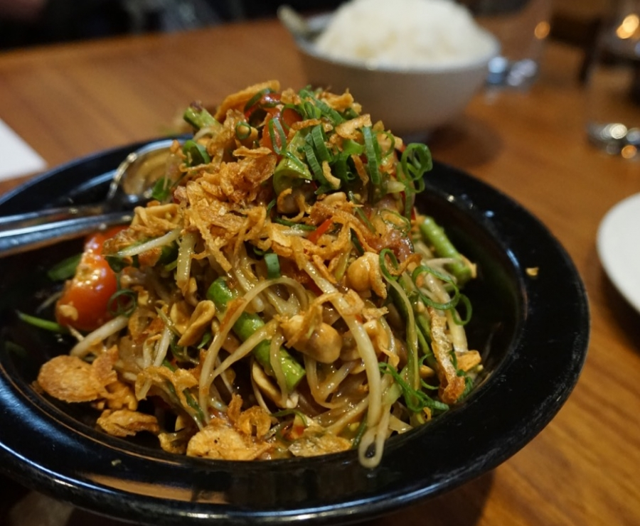 Som Tam, Salad of Green Papaya