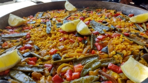 Valencian Vegetable Paella
