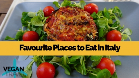Favourite places to eat in Italy
