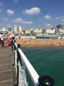 Brighton from the pier!